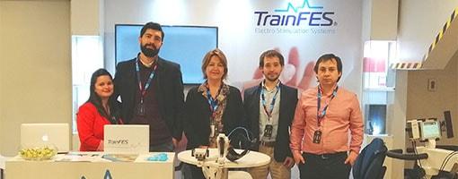 TrainFES presente en la IV Jornada de Medicina Física y Rehabilitación